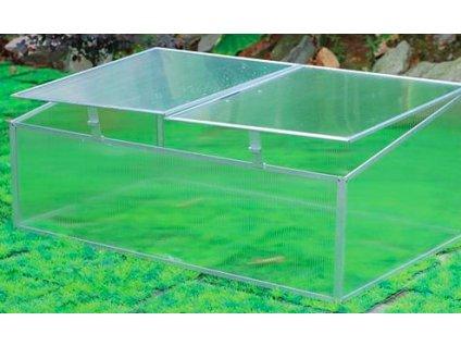 Pařeniště z polykarbonátu dvoukřídlé Greenhouse G50042