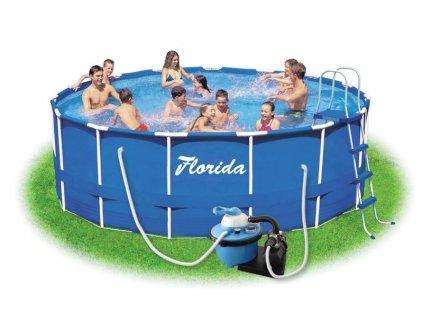 Bazén FLORIDA 3,66 x 0,76 m s pískovou filtrací ProStar 4