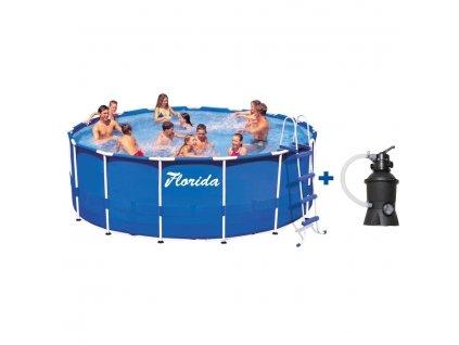 Bazén FLORIDA 3,66 x 0,76 m s pískovou filtrací ProStar 2
