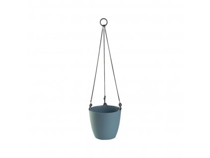 Závěsný květináč ARIELLA 25 cm, modrošedá