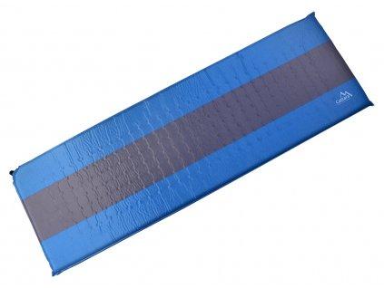 Karimatka samonafukovací 195x60x5cm modro-šedá