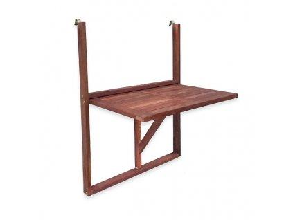 Balkónový stůl MUHLER, akát, 60 cm
