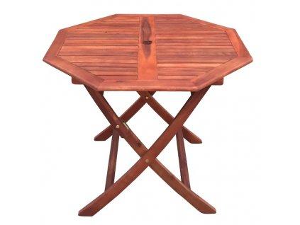 Zahradní stůl MUHLER 100x74 cm, akát, 8-úhelné