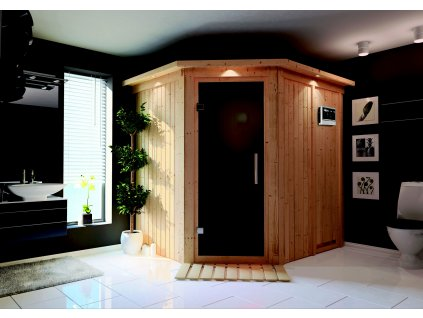 Finská sauna KARIBU SIIRIN