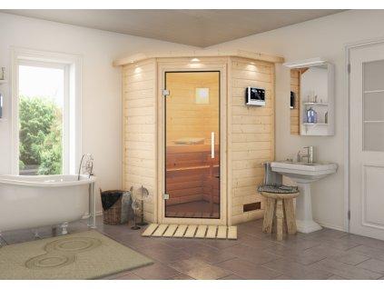 Finská sauna KARIBU FRANKA