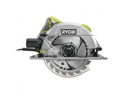 Okružní pila s laserem RYOBI RCS1400-G + pouzdro