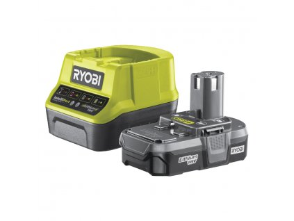 Akumulátor + nabíječka RYOBI 18V 1x 1,3 Ah Li-Ion
