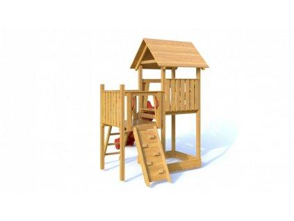 Dřevěné dětské hřiště - Dětské hřiště BOBÍKDřevěné dětské hřiště - Dětské hřiště BOBÍK