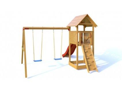 Dřevěné dětské hřiště - Dětské hřiště DÁŠENKA