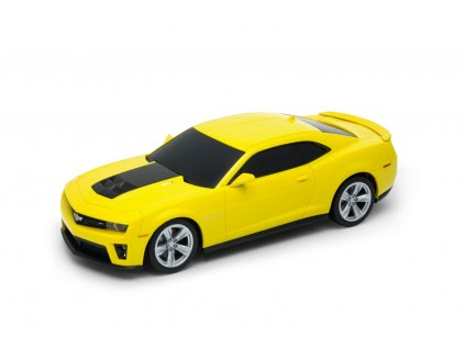 Welly - Chevrolet Camaro ZL1 model RC 1:24 žlutý