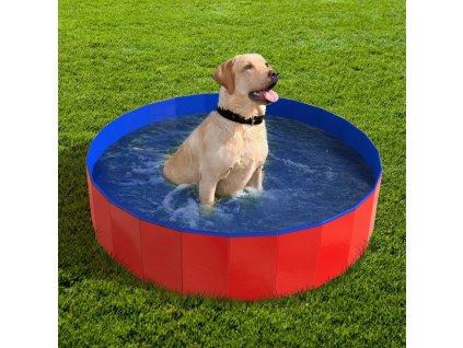 Bazén pro psy skládací 80 cm