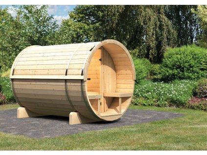 Finská sauna KARIBU FASSAUNA 2