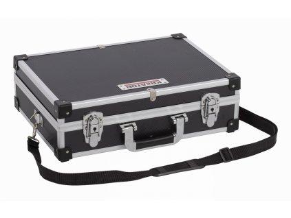 Hliníkový kufr KREATOR 420x300x125mm černý