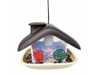 krmitko pro ptaky domek plastia3