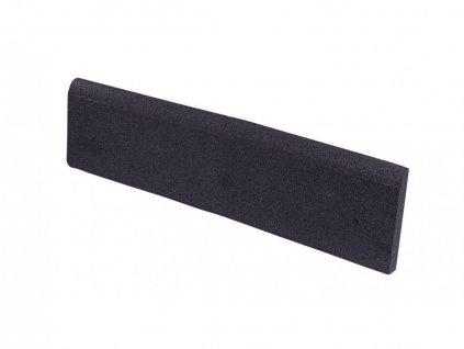 Gumový obrubník GUTTA 100 x 25 cm, 4 cm, černá