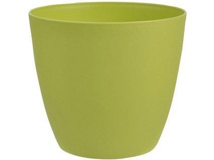 Obal květináče ELLA 13 cm, zelena matná
