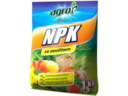Hnojivo AGRO NPK 1 kg
