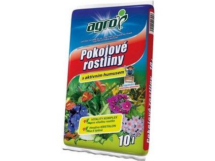 Substrát AGRO pro pokojové rostliny 10 l