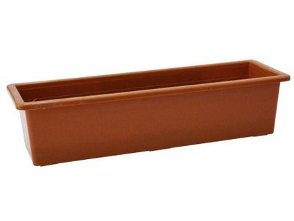 Samozavlažovací truhlík SALVIA 50 cm, terakota