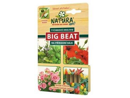 Tyčinkové hnojivo NATURA Big Beat 12ks