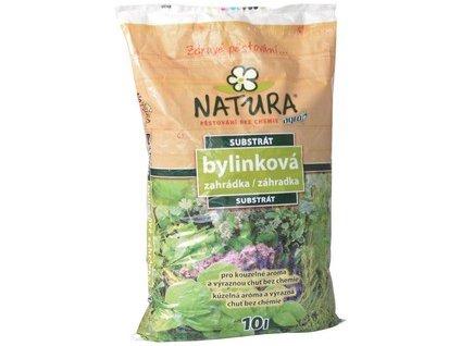 Substrát NATURA bylinková zahrádka a výsev 10 l
