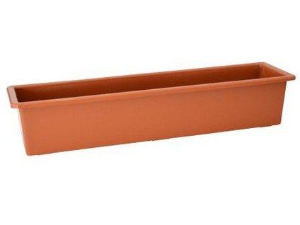 Samozavlažovací truhlík SALVIA 60 cm, terakota