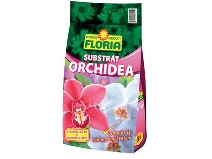 Substrát FLORIA pro orchideje 3 l