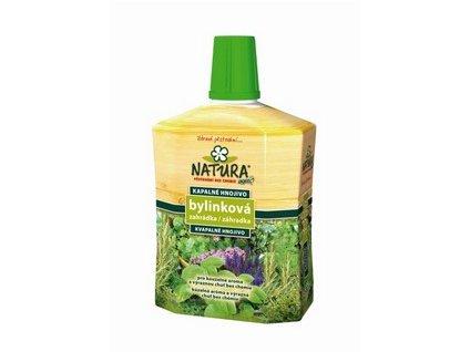 Organické kapalné hnojivo NATURA bylinky 0,5 l