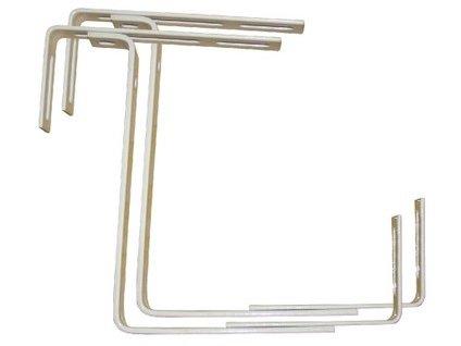 Držák truhlíků balkon.17x10,5-20 cm nastavitelný kov. (2ks)