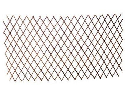 Mřížka zahradní skládací 60x180 cm dřev.