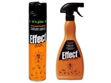 Sprej .na létající i lezoucí hmyz, insekticid EFFECT, 400ml aerosol