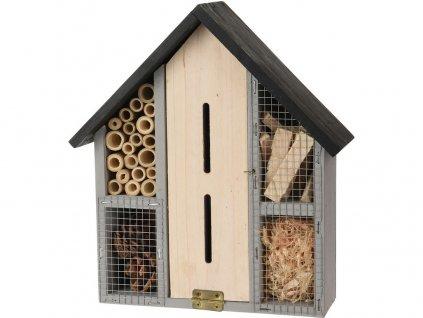 Hotel hmyzí 30x24,3x9,2 cm dřevěný