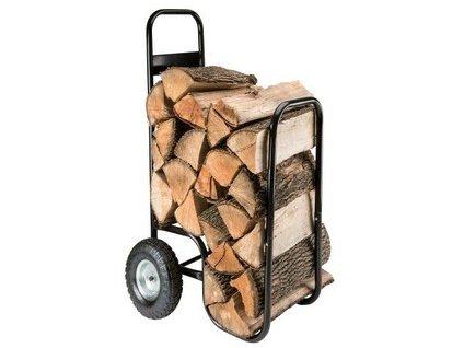 Vozík na palivové dřevo 52x57x107/73 cm , nosnost 80kg