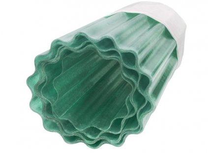 3454724 sklolaminatova vlnita role guttagliss pes 1 5 x 30 m zelena rez na miru cena za bm