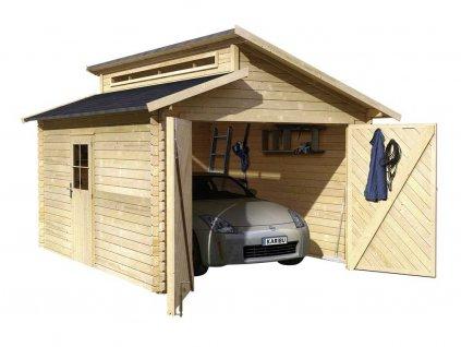 drevena garaz karibu 58440