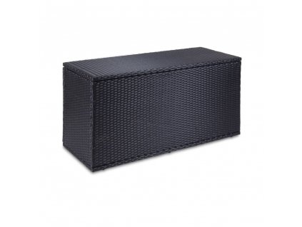 designovy zahradni box z umeleho rattanu fieldmann fdd 1100pr