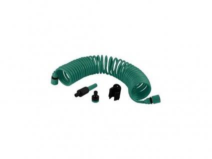 Spirálová hadice na vodu PROTECO, 15m + příslušenství