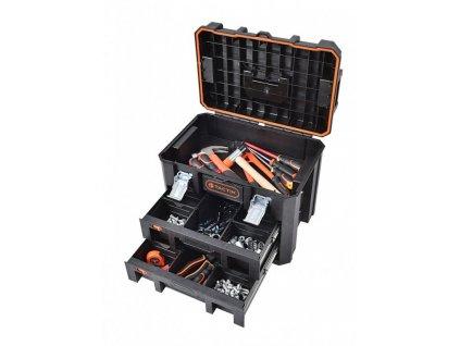 Vodotěsný kufr na nářadí Tactix 530 x 360 x 400 mm