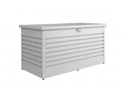 ulozny box biohort freizeitbox 160 stribrna metaliza