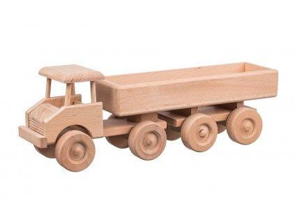 Dřevěné nákladní auto - velké