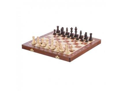 Dřevěné šachy 35 x 35 cm