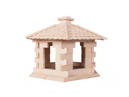 Dřevěný domeček pro ptáky XL