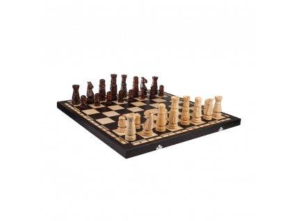Dřevěné šachy velké 60 x 60 cm
