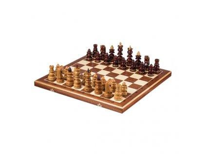 Velké dřevěné šachy - 58x58 cm