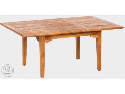 Stůl obdelník z teaku ELEGANTE VIII