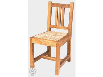 Židle s výpletem z teaku NANDA MINI
