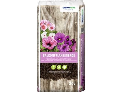 Substrát pro pelargonie a balkonové květiny GRAMOFLOR 20 l