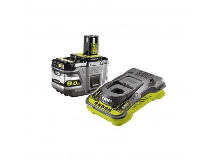 18V One Plus ™ 1x 9,0 Ah Lithium+ HIGH ENERGY akumulátor a nabíječka RYOBI RC18150-190