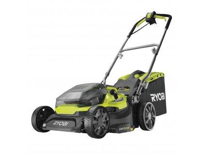 AKU hybridní sekačka na trávu RYOBI RY18LMH37A-250