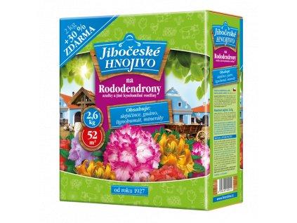 Jihočeské hnojivo na rododendrony 2kg + 30% ZDARMA